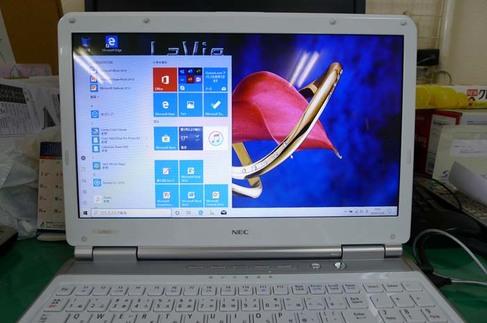 Windows10 高速化 NEC 2010年秋モデル 高萩市