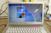 2009年モデル VGN-NW51FB Windows10に...。
