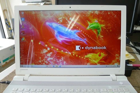 No bootable device...。東芝Dynabook 水戸市