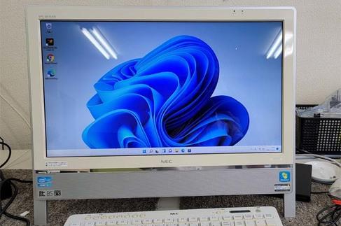 2011年モデル Windows11インストール NEC VN770/E